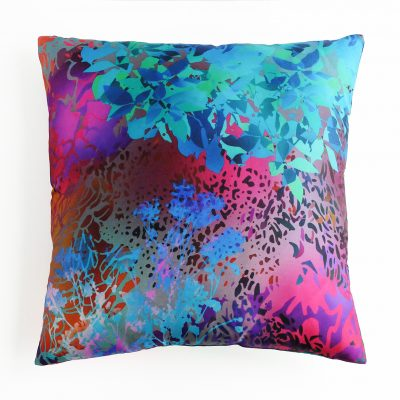 "Silk cushion, 15,5""x15,5"", two differnt sizes, decoration"