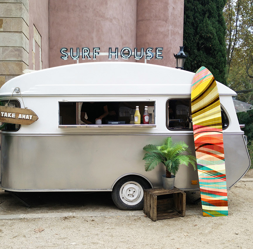 foodtruck Barcelona parque de la Ciudadela